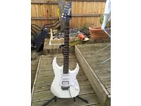 Ibanez Gio white electric guitar