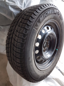 195/65R15 Michelin X-Ice3 on Steel Rims (WINTER SET)