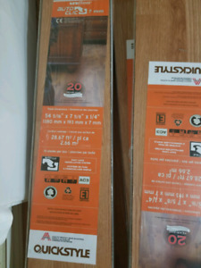 Laminate 140 sq. ft. New in box never used