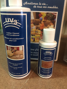 UV3 Leather Cleaner and Wood Polish FREE