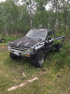 1984 Toyota Other Black Pickup Truck