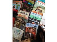 Bundle of LP vinyl records