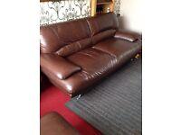 Great condition sofa set