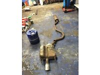 2004 Vauxhall Vectra 1.9 Cdti exhaust system