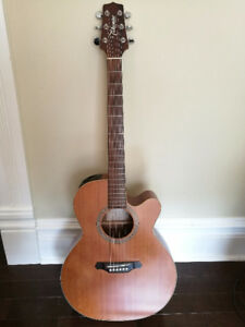 Takamine Acoustic/Electric Guitar with Case