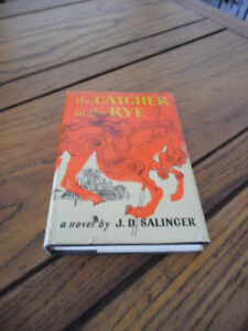Vintage catcher in the rye book- first edition