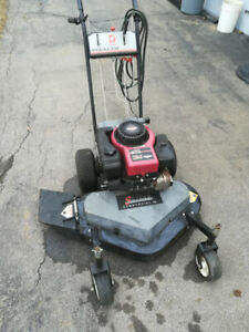 "Sutech stealth commercial 33"" walk behind lawn mower"