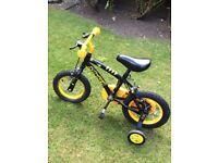 """Child's bike 12"""" stinger boys bike"""