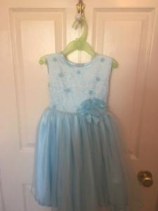 Size 3T Blue Dress