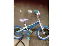 Girls 16' frozen bike