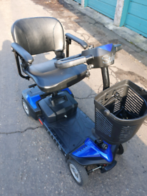 Mobility scooter can deliver