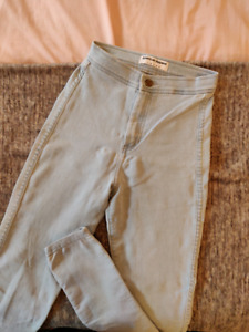 American Apparel Light Wash Easy Jeans