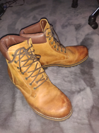 Classic leather Timberland Boots size 10.5 uk