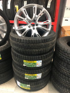 """20"""" Jeep Grand Cherokee SRT WINTER Tires and Wheels"""