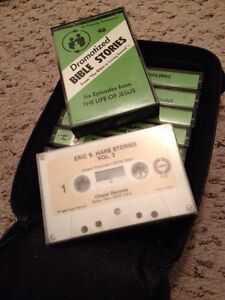 Bible stories on cassette tape