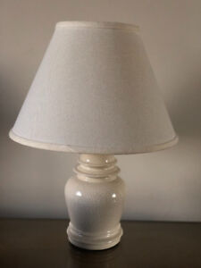 4 ceramic table lamps