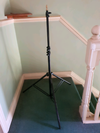 Pair of photo, stage or lighting stands