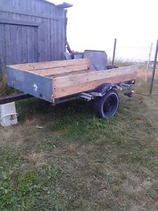 trailer good for yard or woods