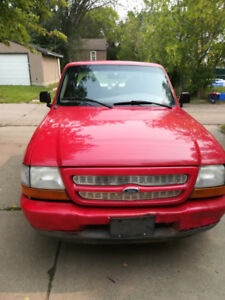 Ford Ranger super cab 1999 with metal tool boxes