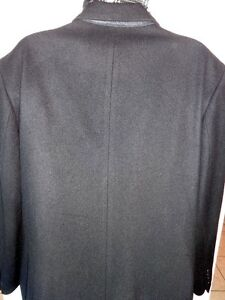 MENS XL WOOL Blend OVERCOAT Banana Republic Black 46 48 NEW Oakville / Halton Region Toronto (GTA) image 4