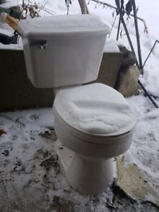 Like New Toilet Only $30 + 2 years old!