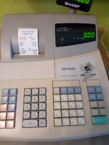 Sharp ER-A242 Electronic Cash Register for sale.
