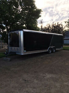 2016  24 Ft car hauler -- Only used once!!