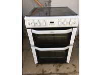Gas double oven