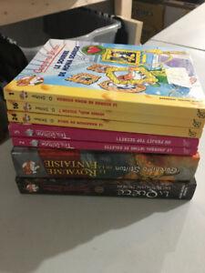 7 Livres GERONIMO stilton TEA  ROMANS PRIX BAS