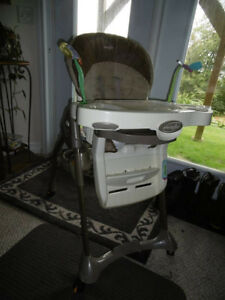 High Chair and Pack and Play