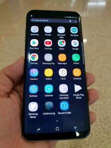 Galaxy S8 Plus near new conditions unlocked 3 months warranty