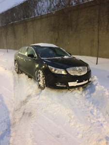 2012 BUICK LaCrosse Black on Black AWD RARE