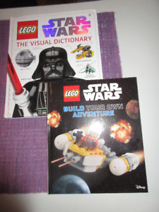 2 Great Lego Star Wars  Books - Full of illustrations