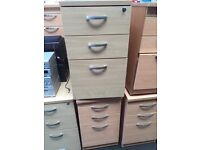 3 draw drawers for sale.