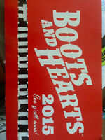 2015 BOOTS & HEARTS TICKETS