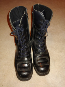 Women's Size 8 Leather Motorcycle Boots