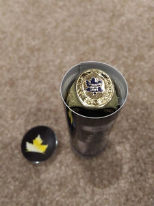 Toronto Maple Leafs Stanley Cup ring