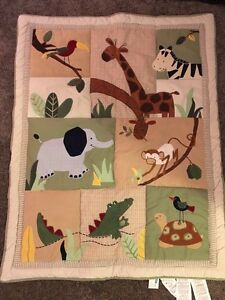 Baby bedding package - safari jungle