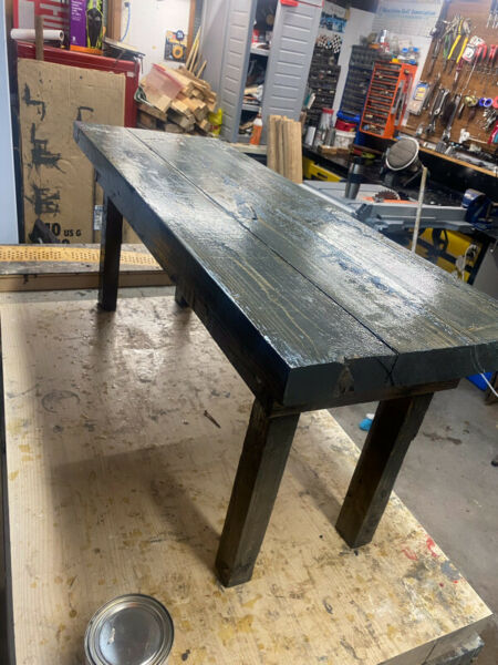 Handcrafted Coffee, End Tables and 4' Bench | Coffee ...