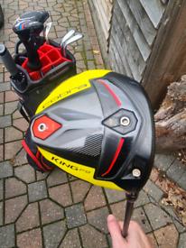 Cobra F9 driver + 3 wood