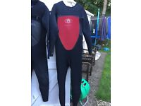 Winter wetsuits size L various conditions