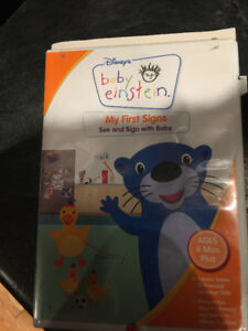 Baby Einstein DVD - My First Signs - LOWER PRICE!!