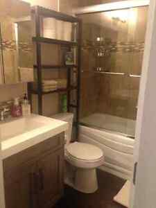 Newly renovated 1 bedroom basement suite - available July 1