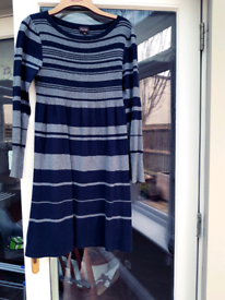 Phase Eight Knit knitted Knitwear Dress Uk 12 VGC