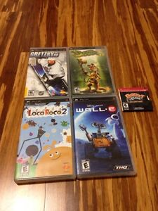 PSP Games - 10/10 condition