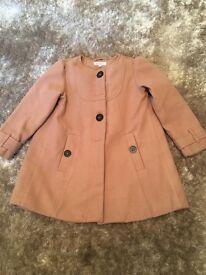 Girls dress coat age 5-6 years