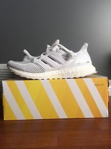 Adidas UltraBOOST White/Reflective Size US11 DEADSTOCK