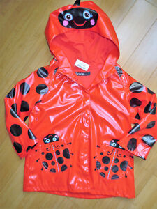Girls Rain Jacket's - Size 3