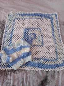 2 piece Blanket Cardigan Set