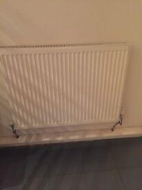 2 radiators White - fully useable
